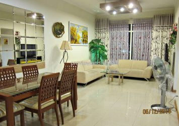 Saigon Pearl apartment for rent 2 bedrooms 90 sqm