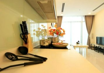 Serviced apartment for rent in Vinhomes