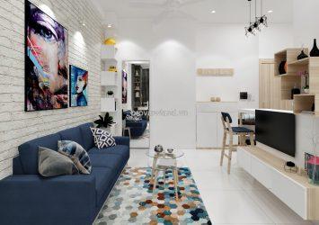 Services apartment at No.15, Street 4, Thao Dien Ward 50 sqm