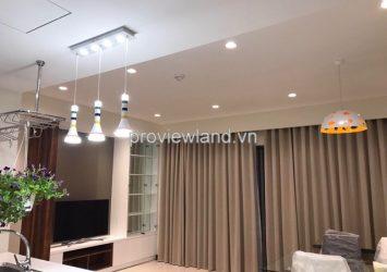 Masteri apartment for rent 73 sqm 2 bedrooms pool view