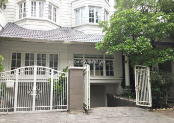 Saigon Pearl villa for rent 4 bedrooms 2 floors 450 sqm basic furniture