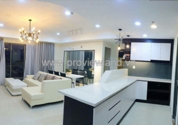 Masteri Thao Dien for rent 93 sqm river view 3 bedrooms