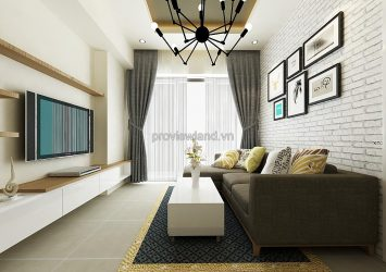 Masteri Thao Dien for rent fully furnished 70 sqm 3 bedrooms