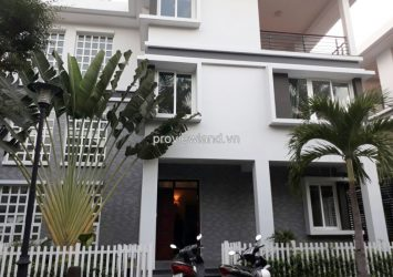 Villa for rent in District 10, Villa Ha Do compound 3 floors 4 bedrooms