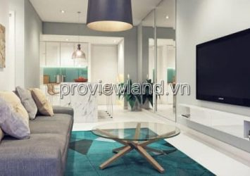 Apartments for sale at Gateway Thao Dien District 2 has area 90sqm 2 bedrooms high floor