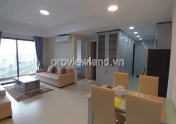 Apartment for rent Masteri Thao Dien has area 73sqm with 2 bedrooms T5 tower