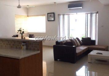 River Garden Apartment for rent low floor Block B has area 135sqm 2 bedrooms