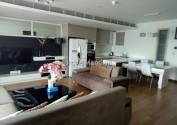 Diamond Island apartment for rent has area 122m2 2 bedrooms 9th floor fully furnished