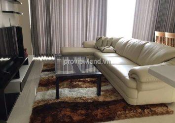 Apartment for rent in Estella 124sqm 2BRs 21th floor full interior