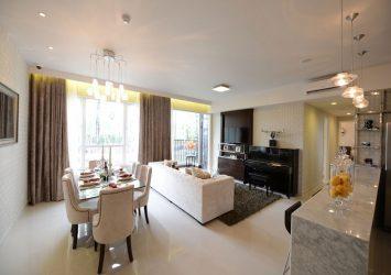 Apartment for sale Vista Verde district 2 16th floor area 203sqm 4 bedrooms river view