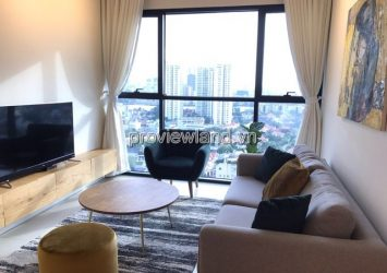 Apartment for rent The Ascent B tower 17th floor area 70sqm 2 bedrooms river view