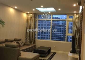 Serviced apartment in Binh Thanh District for ren at Saigon Pearl 33th floor river view 2 bedrooms