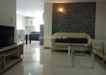 BMC Tower apartment for rent has area 86sqm 3 bedrooms fully furnished