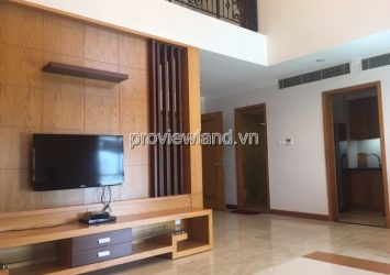 Duplex Saigon Pavillon apartment for rent has area 124sqm 2 bedrooms