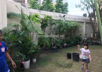 Villa for rent in Thao Dien 7BRs full furniture riverside very airy