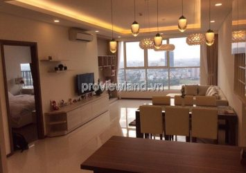 Thao Dien Pearl apartment for rent high floor area 134sqm 3 bedrooms river view
