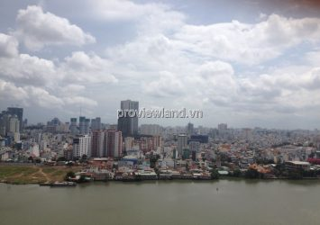 Apartment in Hoang Anh River view for rent high floor area 177sqm 4BRs river view