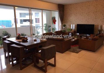 Apartment for rent Estella district 2 at Block 1A high floor area 171sqm 3 bedrooms