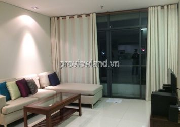 Apartment for rent City Garden A tower area 70sqm 1 bedroom low floor