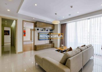 Apartment for rent Cantavil Premier high floor area 176sqm 4 bedrooms river view