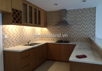 Apartment for rent River Garden 17th floor Block B area 147sqm 3 bedrooms