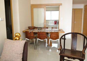 Apartment for rent The Vista has area 135sqm 3BRS 14th floor T1 tower