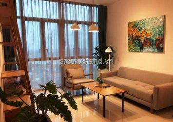 Apartment for rent The Vista 7th floor T3 tower 2 bedrooms river view