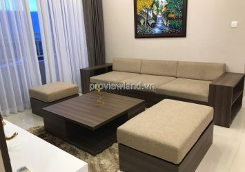 Apartment for rent Sunrise City has area 120sqm 3 BRs high floor