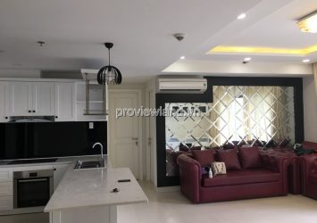 Masteri Thao Dien apartment for sale has 18th floor 3 bedrooms Bitexco view