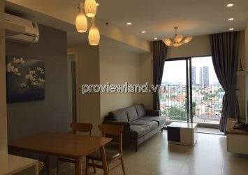 Masteri Thao Dien apartment for rent Block B T2 tower high floor area 68swqm 2 BRS