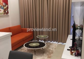 Apartment for rent distric 2 Masteri T2 tower high floor 58sqm 2 bedroosm City view