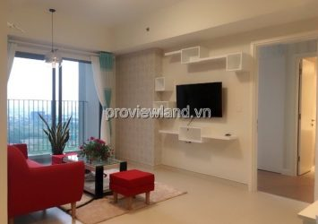 Masteri Thao Dien apartment for rent 73sqm 2 bedrooms at T5 tower high floor