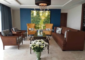 Apartment Duplex for sale Saigon Pearl has 500sqm 4 brs 3 floors river view
