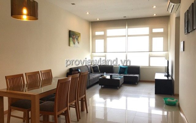 Apartment for rent Saigon Pearl has 90sqm 2 bedrooms river view full ...