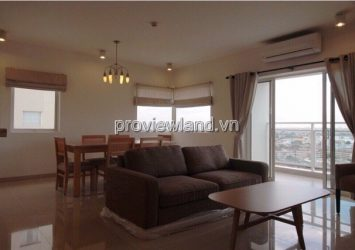 Apartment for rent River Garden District 2 17th floor area 140sqm 2 bedrooms river view