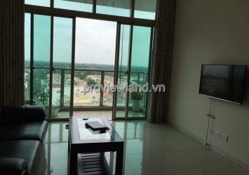 Apartment for rent The Vista low floor 2 bedrooms river view full furniture
