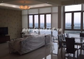 Apartment for rent The Vista in district 2 19th floor area 170sqm T3 tower full furniture