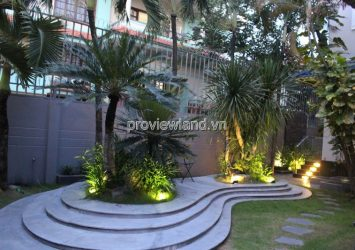 Smart villa for rent Thao Dien district 2 area 320sqm 4 bedrooms has garden