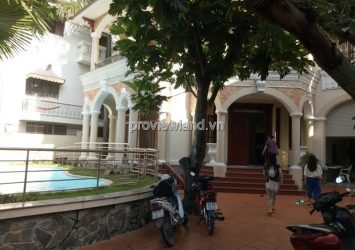 Villa for rent Thao Dien area 500sqm 4 bedrooms garden and pool