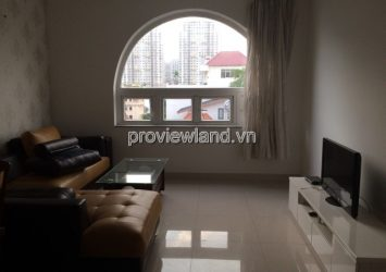 Serviced apartment district 2 for rent at 215B3 Nguyen Van Huong 90sqm 2 bedrooms