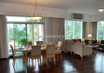 Serviced apartment for rent in District 1 Indochina Park Tower 3 bedrooms