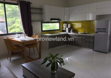 Serviced apartment for rent Thao Dien ward area 50-90sqm 1-2 bedrooms