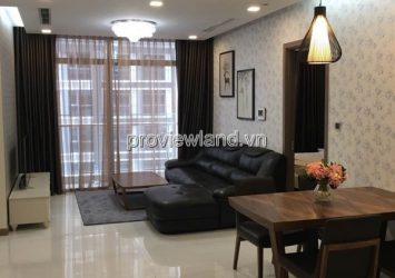 Apartment for rent Vinhomes Tang Cang Binh Thanh District at high floor 2BRS full furniture