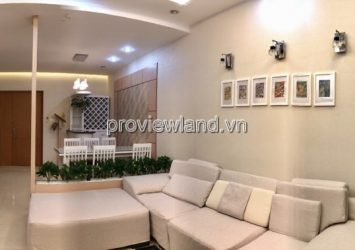 Saigon Pearl apartment for sale has area 90sqm high floor 2 bedrooms full furniture