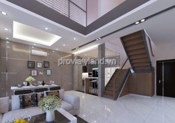 Penthouse Tropic Garden for rent 26th floor river view 2 floors 1 terrace 4 bedrooms
