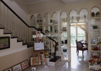 Villa for sale Phu Gia District 7 area 350sqm 3 bedrooms full furniture