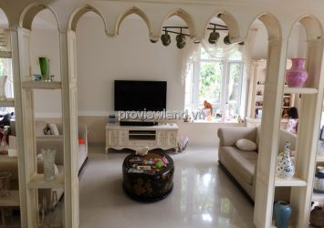 Phu Gia Villa for rent in district 7 2 floors 350sqm 3 bedrooms full furniture