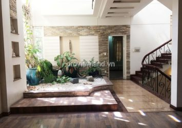 Villa for rent in Tan Binh district Song Nhue street area 300sqm 6 bedrooms full furniture
