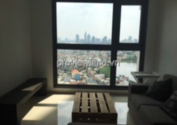 Apartment for rent Pearl Plaza high floor 2 bedrooms 103sqm full furniture