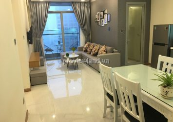 Serviced apartment for rent in Binh Thanh District Vinhomes 86sqm 24th floor 2 bedrooms